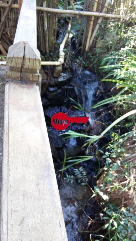 Água corrente em toda a propriedade